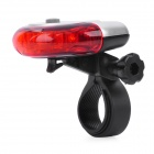 5-LED 3-Mode Red Light Bicycle Tail Light (2 x AAA)