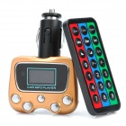 "1.1"" LCD Car MP3 Player FM Transmitter w/ Remote Controller / SD / TF / USB (12V)"