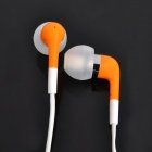 Стильный In-Ear Наушники ж / Микрофон для iPhone 4 / 4s / IPOD / IPad - Orange (116cm-кабель)
