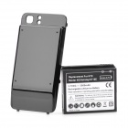 3.7V/3500MAH Rechargeable Lithium Battery + Matte Back Case for HTC RAIDER 4G/HOLIDAY X710E - Black