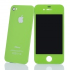 Replacement Touch Screen Digitizer LCD + Back Cover Module w/ Tools Kit for iPhone 4 - Green