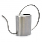 Garden Stainless Steel Watering Can - Silver (1200ml)