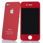 Replacement Touch Screen Digitizer LCD + Back Cover Module w/ Tools Kit for iPhone 4 - Red