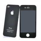 Replacement Touch Screen Digitizer LCD + Back Cover Module w/ Tools Kit for iPhone 4 - Black