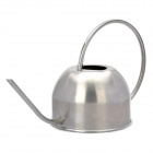 Cute Teapot Style Stainless Steel Garden Watering Can - Silver (1500ml)