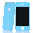Replacement Touch Screen Digitizer LCD + Back Cover Module w/ Tools Kit for iPhone 4 - Blue