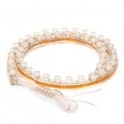 2.1W 48-LED Car DIY Flexible White Light Strip (9 ~ 14V)