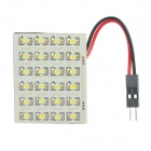 12W 288-Lumen 24x1206 LED White Light Car Dome Lamp w/ T10 & SV85 Connectors (DC 12V)