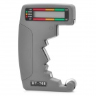 "1.3"" LCD Digital Battery Capacity Battery Type Tester - Grey (1 x AAA)"