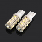 T10 6.5W 156-Lumen 13-1206 SMD LED White Light Car Dashboard Lamps (DC 12V / Pair)