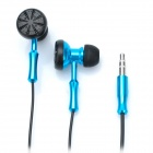 Stylish In-Ear Double-Sided Stereo Earphone - Blue (3.5mm Jack / 120CM-Cable)