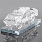 Crystal Car Model Style Car / Home Perfume Case Bottle - Transparent White