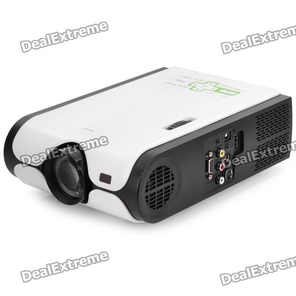 GD-300PB II Multimedia Player LED Projector w/ SD / USB / HDMI / TV / VGA / S-Video