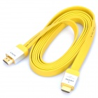 1080P HDMI V1.4 Male to Male Cable - Yellow + Gold
