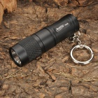Bronte RA05 XPG-R5 LED 170LM 3-Mode Memory White Light Flashlight w/ Key Ring (1 x CR123/16340)