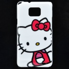 Cute Hello Kitty Pattern Protective PC Back Case for Samsung i9100