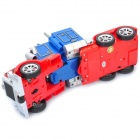 Stylish Transformation Robot Four Channel Remote Control Truck - Blue + Red