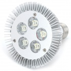 E27 5W 475LM 6000K White 5-LED Spot Light Bulb (AC 89-265V)