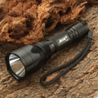 Jacob Cree Q5 5-Mode 370-Lumen White Light LED Flashlight w/ Strap (1 x 18650)