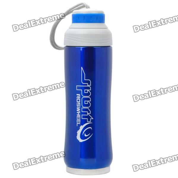 Sports Edelstahl Vacuum Bottle - Blue (450ml)