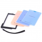"5"" Semi-Transparent Color Temperature Cards for White Balance (5-Pack)"