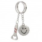 Fashion Couple Keychains - Bottle Opener & Cap (Pair)