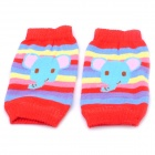 Cute Cartoon Pattern Baby Crawling Leg Warmers Knee Protectors (4-Pair / Random Color)