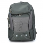 "Protective Casual Backpack Bag for 15.6"" Laptop Notebook - Dark Green"