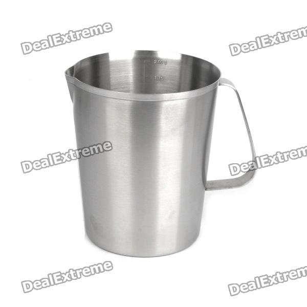 Stainless Steel Measuring Cup - Silver (2000ml)