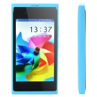 "N9 GSM Cell Phone w/ 3.6"" Resistive TFT Screen, Quadband, Dual SIM and FM - Blue"