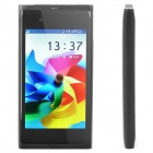 "N9 GSM Cell Phone w/ 3.6"" Resistive TFT Screen, Quadband, Dual SIM and FM - Black"