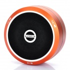 Portable USB Rechargeable Bluetooth V2.1+EDR Speaker - Orange