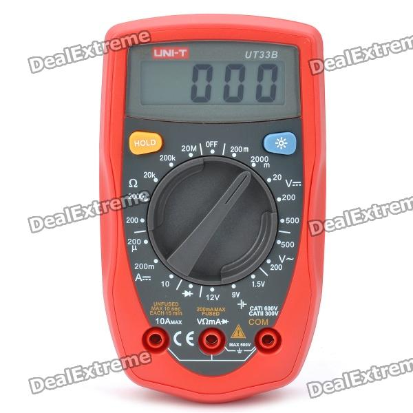 UNI-T UT33B Palm Size Digital Multimeter with 1.9