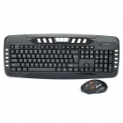 2.4GHz Wireless Keyboard & 1600DPI Mouse w/ Receiver Combo