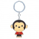 Cute Cartoon Monkey Style Zinc Alloy Keychain
