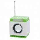 "1.4"" LED MP3 Player Speaker w/ FM / Alarm Clock / USB / 3.5mm Audio / TF"