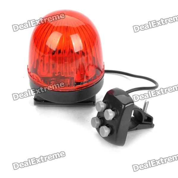 Waterproof Trumpet Strobe Light for Bike - Red traditional squeeze bulb horn trumpet for bike