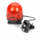 Waterproof Trumpet Strobe Light for Bike - Red