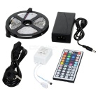 Decoration 5050 300-LED RGB Light Strip w/ Remote Controller (5-Meter/DC 12V)