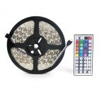 Waterproof 5050 300-LED Light Strip w/Remote Controller & Power Adapter (5-meter/DC 12V)