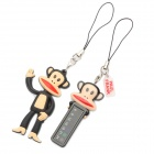 Netter Paul Frank-Stil Temperature Sensor Anhänger mit Strap - Black + Light Yellow