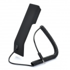 Retro Style Handset for Cellphone - Black (3.5mm Jack)