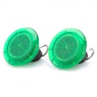 Nite Ize See'Em Green LED Spoke Light for Bicycle (Pair / 1 x CR927)
