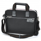 "Kingsons Protective Soft Carrying Hand Bag with Shoulder Strap for 14.1"" Laptop (Black)"