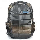 "Kingsons Travel Backpack Double Shoulder Bag for 15.6"" Laptop - Black"