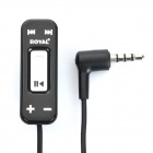 3.5mm Male to Female Audio Adapter Cable with Microphone & Clip for Nokia N95 / N81 / N97