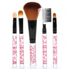 Portable Beauty Cosmetic Makeup Brushes Set (5-Piece Pack)