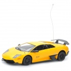 1:18 5-CH 40MHz R/C Lamborghini Model Toy Music & Light Effects - Yellow