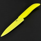 "5"" Chic Chefs Horizontal Ceramic Knife - Yellow (13.8cm-Blade)"