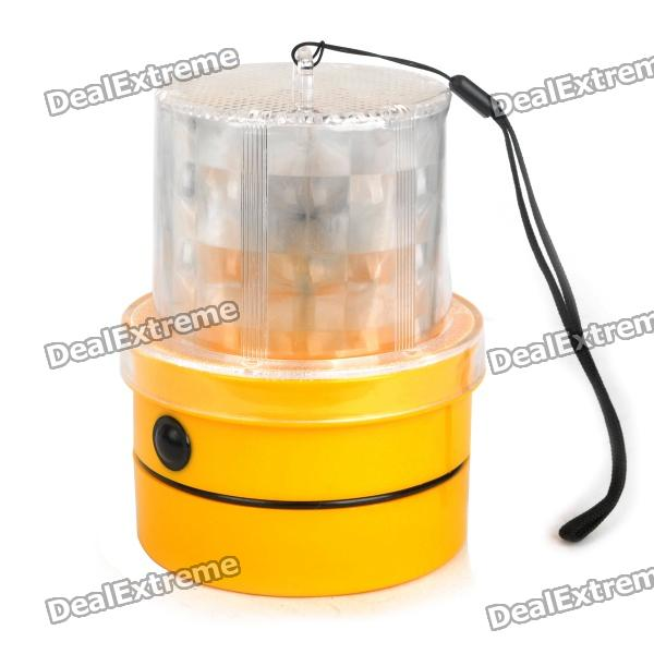8-led-red-light-8-led-blue-light-caution-warning-lamp-with-magnetic-mount-holder-strap-2-x-r20